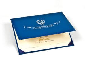 Padded Diploma Holders