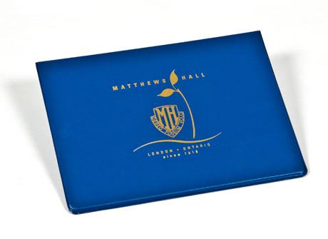 Custom Vinyl Diploma Holders