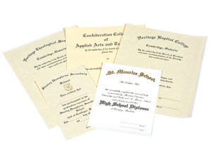 Custom Diplomas & Certificates