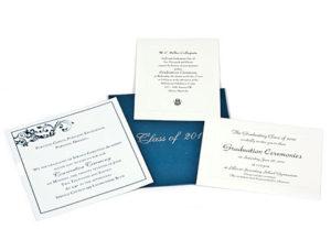 Custom Printed Graduation Invitations