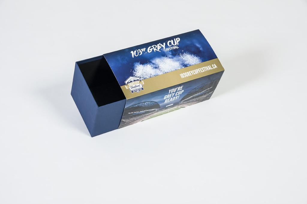 grey cup packaging