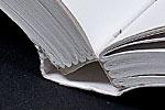 lay flat sewn binding