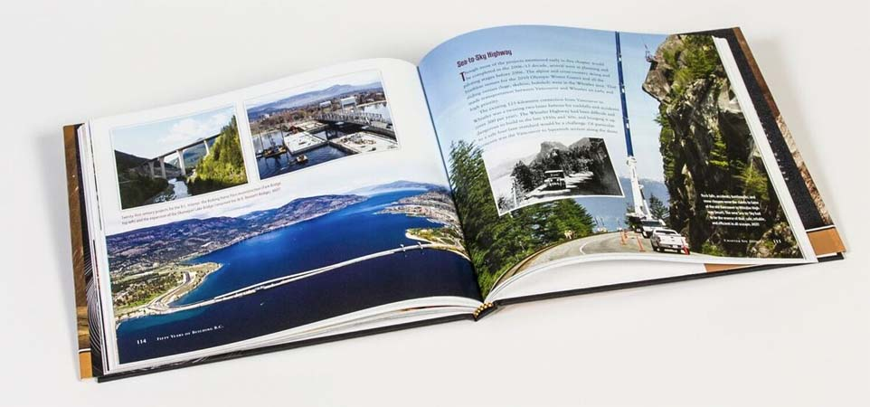50 years of building BC book