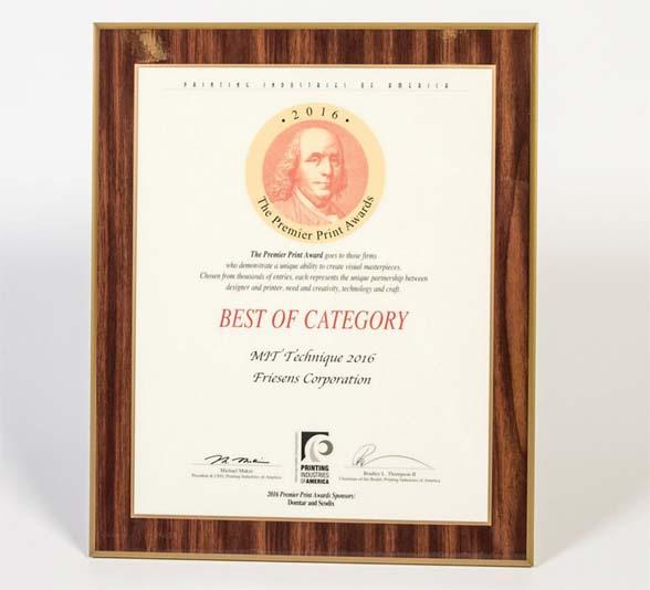 Friesens Award