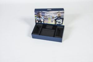 Seattle Seahawks Suite box - open