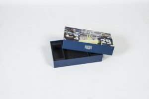 Seattle Seahawks Suite box - partially open