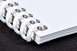 plastic spiral binding