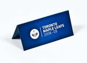 toronto maple leafs single pocket ticket wallet