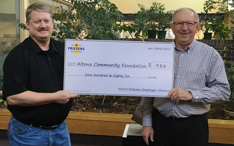 Acf Friesens Donation