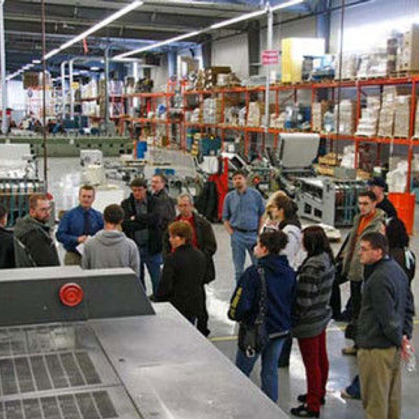 warehouse gathering