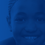 blue hued banner image of youths faces