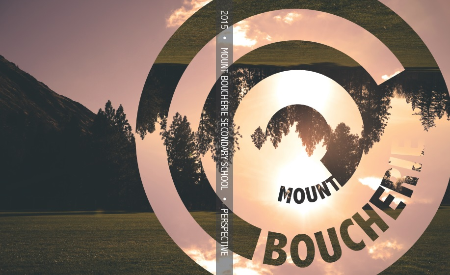 Mount Boucherie Secondary School 2015 yearbook cover