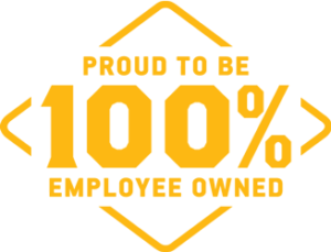 proud to be 100% employee owned