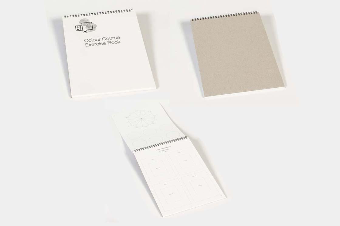 Colour course excersie book
