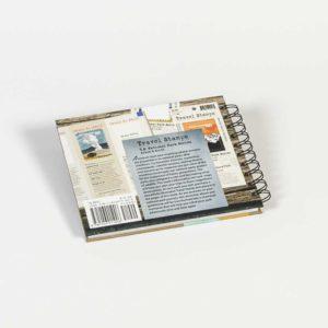 Travel Stamps Sticker Book